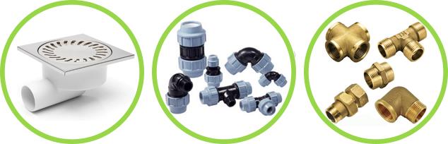Купит фасонные части - фитинги для отопления, водоснабжения, водоотведения